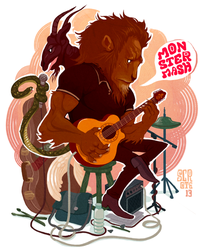 ONE CHIMERA BAND by scrotumnose