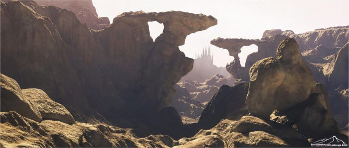 Eroded by 3DLandscapeArtist