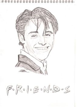 Joey Tribbiani from Friends by graeme-b