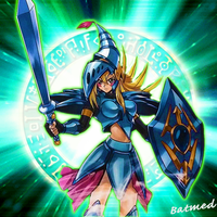 Dark Magician Girl Knight by BatMed