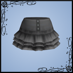 Layered High-waisted Skirt DOWNLOAD by Reseliee