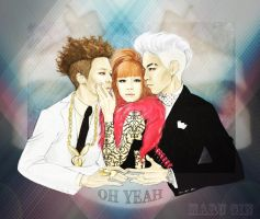 Oh Yeah feat. Park Bom by MaruGin