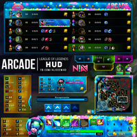 Arcade HUD - League of Legends by AliceeMad
