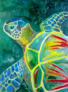 I Sea a Turtle by speedychipmunk13