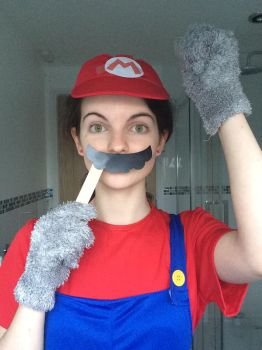 Mario cosplay 3 by TotallyDeviantLisa