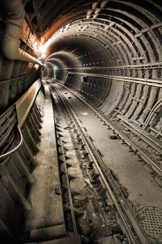 TTC:  Bloor Line Tunnel by basseca