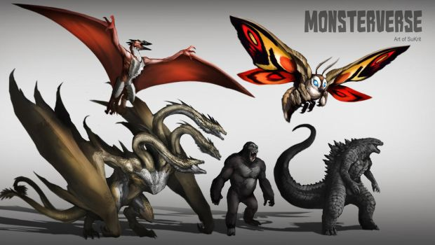 MonsterVerse by DoomGuy26