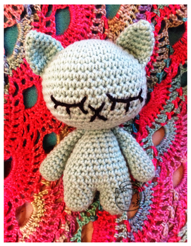 Neko Nap (pattern free for limited time) by Kariosa-Adopts