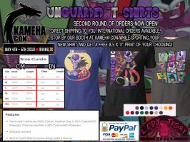 Unguarded T-Shirt Online Orders Now Open! by ladytygrycomics