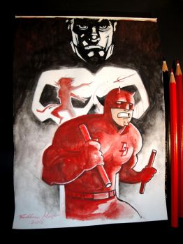 DAREDEVIL by Frederic-Mur