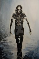 Eric Draven - The Crow by ArystaYC