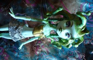 OOAK Custom Monster High Medusa by redmermaidwerewolf