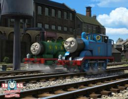 The Adventure Continues - Thomas meets GWR Percy by The-ARC-Minister