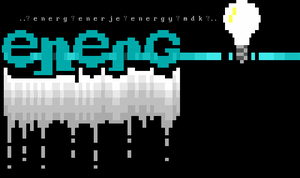 Logo for 'enerG'. by mdkathon
