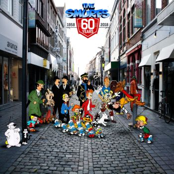 The Smurfs 60th Anniversary by yugioh1985