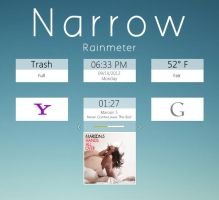 Narrow for Rainmeter by C---M