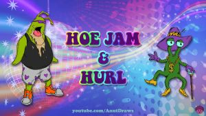 Hoe Jam and Hurl by AnutDraws