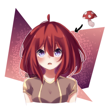 Aine mushroom by May-Itou