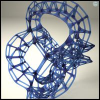 TopMod Abstract Sculpture by zipper