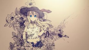 Anime Flower Girl 1366x768 V1.01 by gameriuxlt