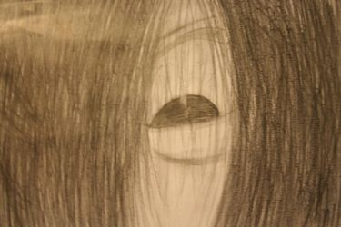 Sadako eye by EvilWilfre