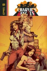 Charlie's Angels #1 David Finch Cover by JimmyReyes