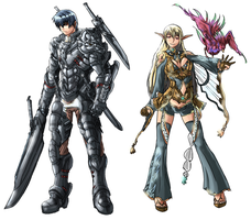 Fantasy character line up pt1 by Frost7