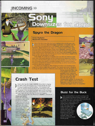 Spyro Magazine Article + Gold Dragon pic by DarthArchanist