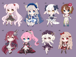 (CLOSED) $10 -$15 Adopts for a friend by Haruea