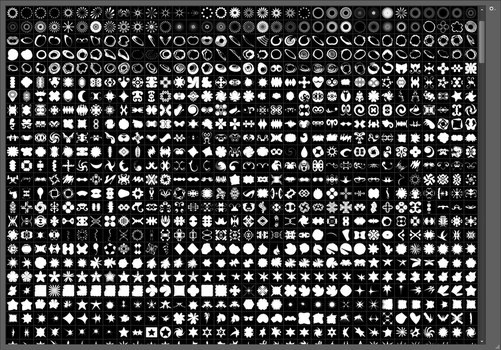 +10000 Shapes Photoshop 2016 [NOW FREE] by DearVooDoo