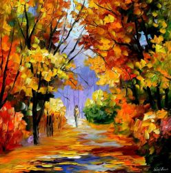 Unity With Nature by Leonid Afremov by Leonidafremov