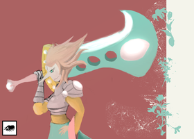 Pearl's Big Sword by marky1212