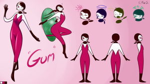 Gum: The Model Sheet by LittleIkki