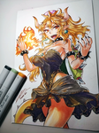 Bowsette by freezeex