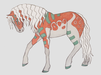 Horse Stylized by shadee