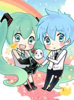 Miku and the basketball which kuroko plays by tip3361