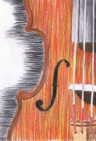 The Violin by FloraRedwood