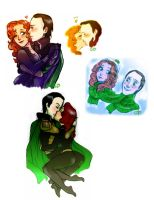 LokiXWidow: Baby it's cold outside by Gorseheart