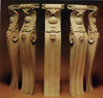 Carved brackets Carlton Hotel by AllenNecchi