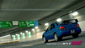 Subaru Impreza GT5 Wallpaper by trial-the-echidna