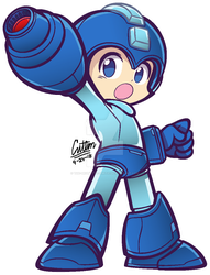 .:The Blue Bomber - Puyo Puyo 20th-styled:. by CaitlinTheStarGirl