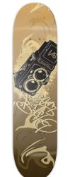 SKateboard Alex B Pro Design by Jestersdream