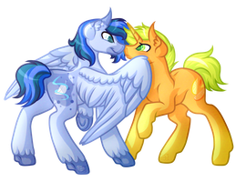 .:Contest Entry:. Featherlight and Citrus by Amazing-ArtSong