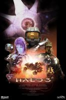 Halo: 3 Poster by Halcylon