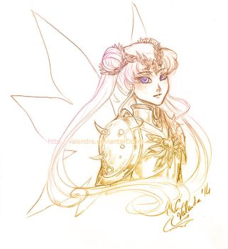Divine Sailor Moon ::  zelldinchit by Valendra