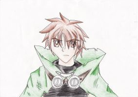 Syaoran drawing by SmashBros2008