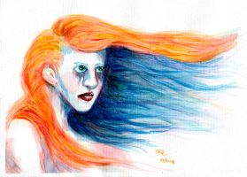 Watercolor Test 001 by Hunchy