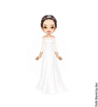Princess Mia's Wedding Dress by LolaScheving