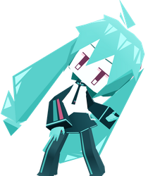 |DL SERIES| Paper Craft Hatsune Miku (72/?) by typhlosion4ever