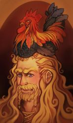 Fili and 'Dinner' by shinigami714